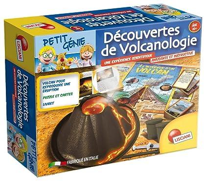 Lisciani Giochi - F42289 - Jeu Scientifique - Découvre La Vulcanologie