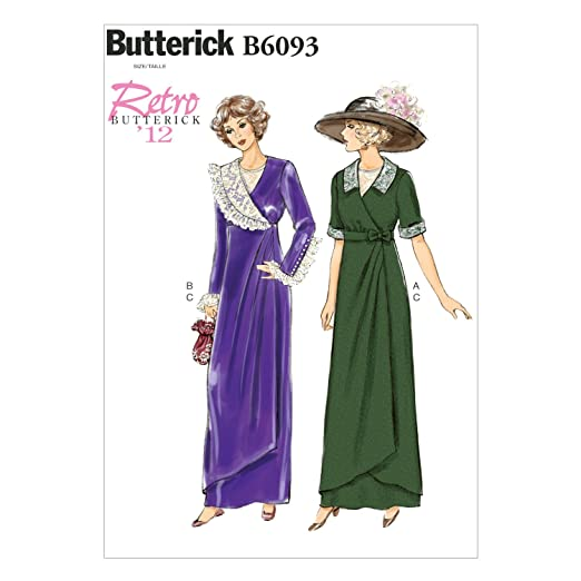 Titanic Edwardian Sewing Patterns- Dresses, Blouses, Corsets, Costumes 1912 Misses Dress Belt and Bib Size A5 $11.75 AT vintagedancer.com