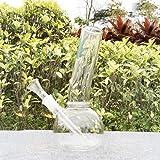 Handmade Glass Water Big Chamber Bub 7.9 inch YF64