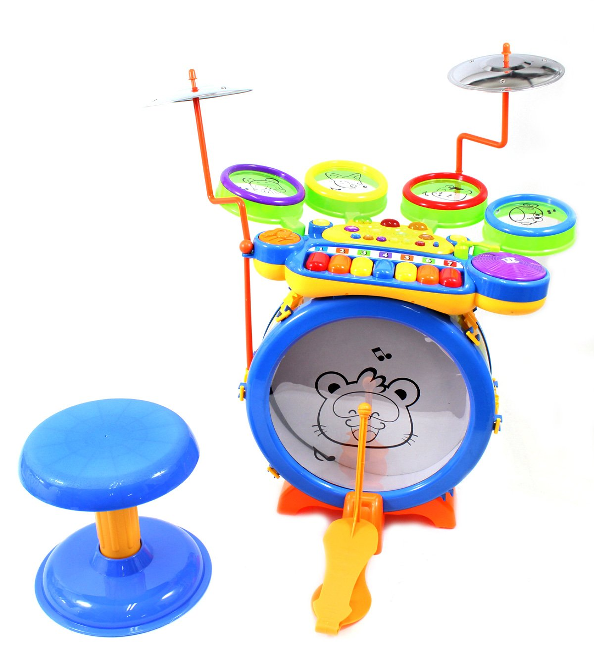 PowerTRC® Junior DJ Drum Band 2-in-1 Children