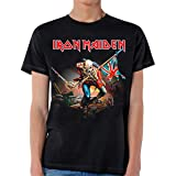 Iron Maiden The Trooper T-Shirt S, Black (Color: Black, Tamaño: Small)
