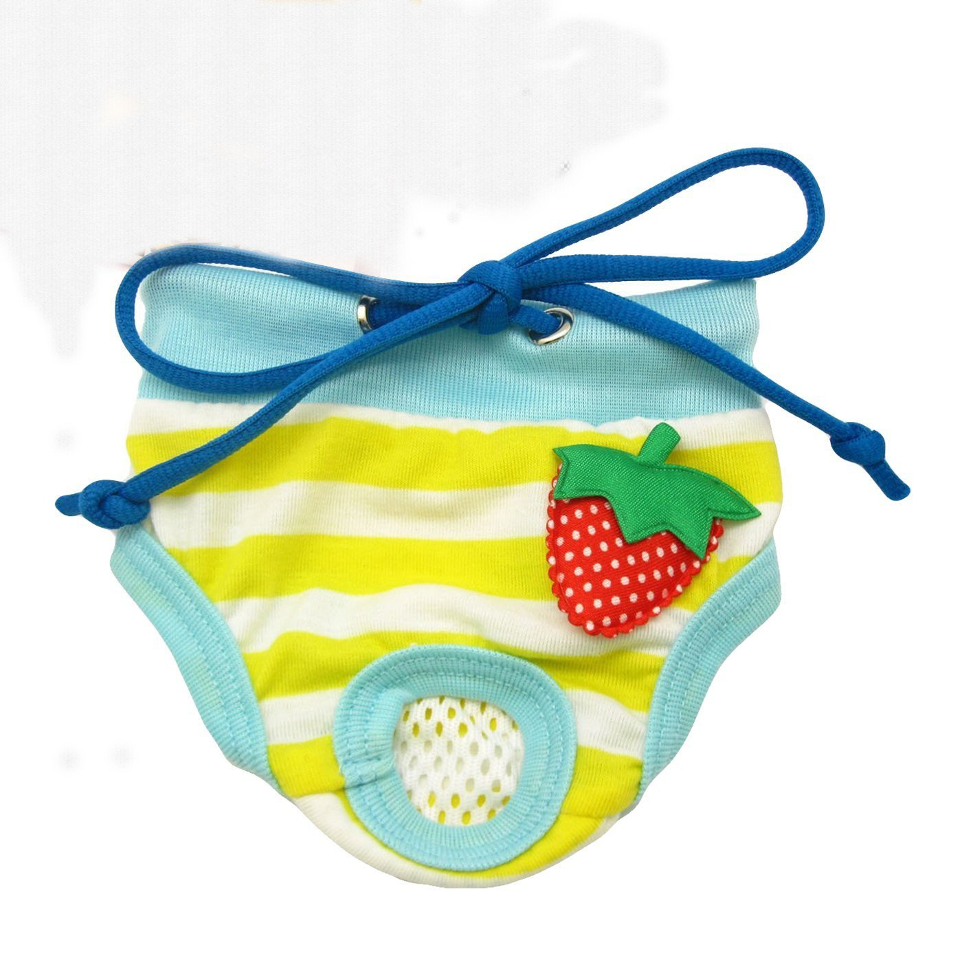 Mimibox Strawberry Pet Puppy Underwear Dog Physiological Panty Diaper Sanitary Panties Female