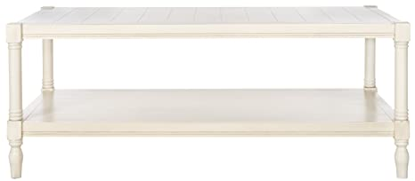 Safavieh American Home Collection Bela White Coffee Table