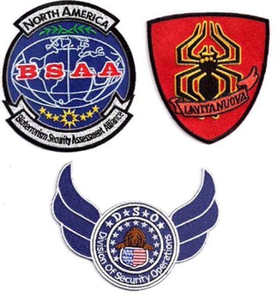 Resident Evil Bsaa Logo Resident Evil 6 Embroidered