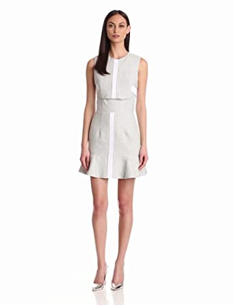 camilla and marc Women's Play On The Light Dress, Gray Marle, 2