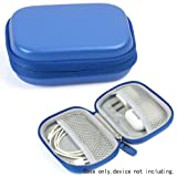 Travel Protection and Storage Case for Airpods Case, also for BeatsX, Powerbeats2, Powerbeats3 Earphones, Sony MDR-XB50AP/L Extra Bass Earbud (Sky Blue) (Color: Sky Blue)