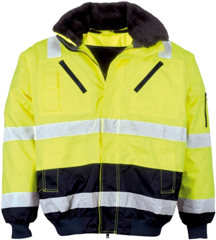 Warnschutzjacke Arbeitsjacke Regenjacke Pilotenjacke Gr. S – XXXXL jetzt kaufen