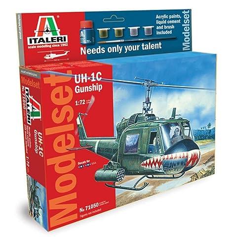 Italeri - I71050 - Maquette - Aviation - Set Uh-1c Gunship