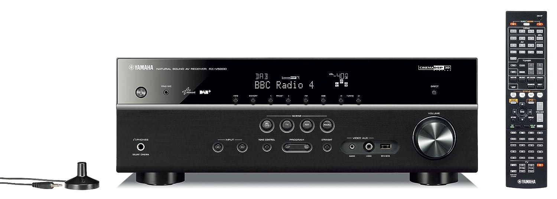 Yamaha RX-V500 DAB AV-Receiver schwarz