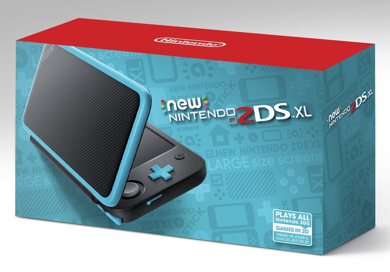 Turquoise Nintendo 2DS XL