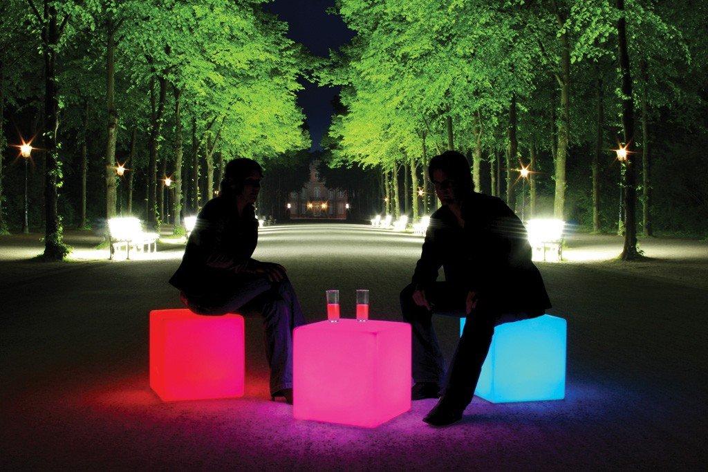 Würfel Cube quadratisch mit Beleuchtung online bestellen