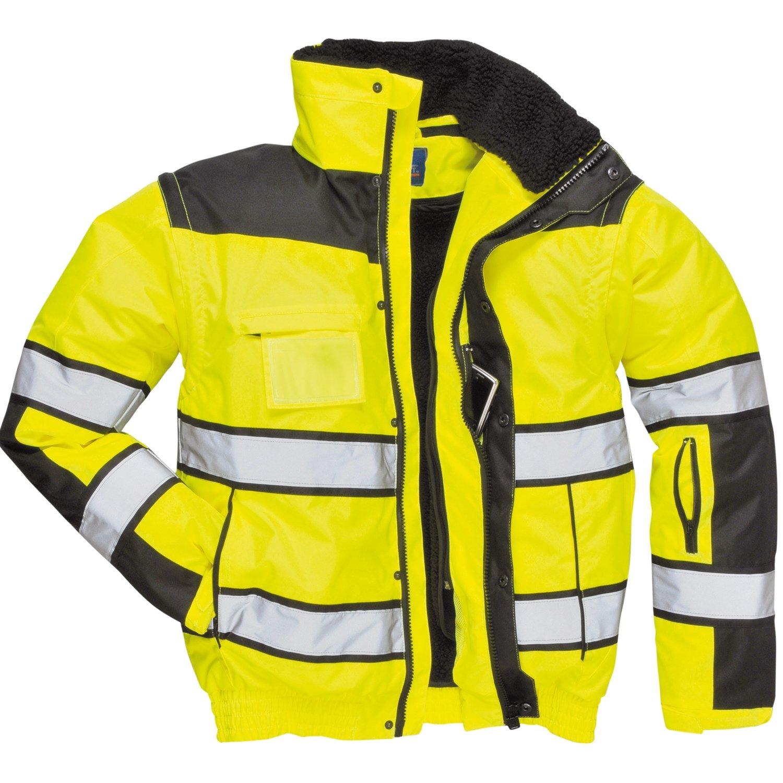 4in1 Warnschutzjacke Regenjacke Winterjacke Arbeitsjacke gleb oder orange kaufen