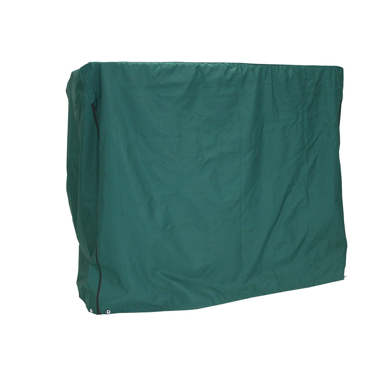 Greemotion Schutzhülle für Hollywoodschaukel wasserabweisend mit Zugband, Grün, ca. 200 x 120 x 170 cm bestellen