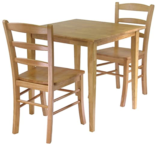 Winsome Groveland 3-Piece Dining Set - Light Oak