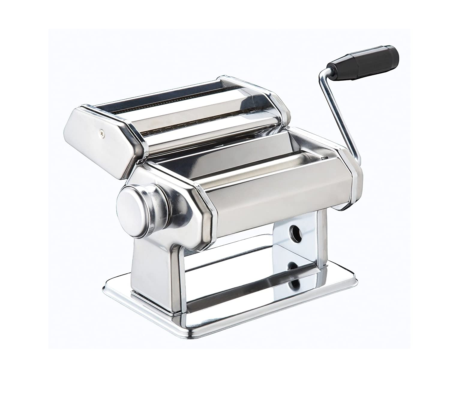 Hand Crank Kitchen Appliances: Fresh Pasta Roller Machine Traditional Hand Crank Style
