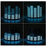 New-Sky-View - Sound Music Beat Activated Car Stickers Equalizer Glow Blue LED Light Audio Voice Rhythm Lamp
