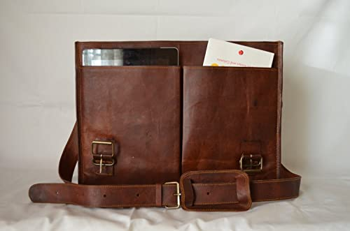 PL Leather Messenger Bag 16
