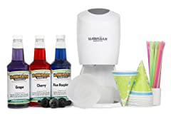 Hawaiian Shaved Ice And Snow Cone Machine Party Package