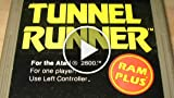 Classic Game Room - TUNNEL RUNNER For Atari 2600 Review...