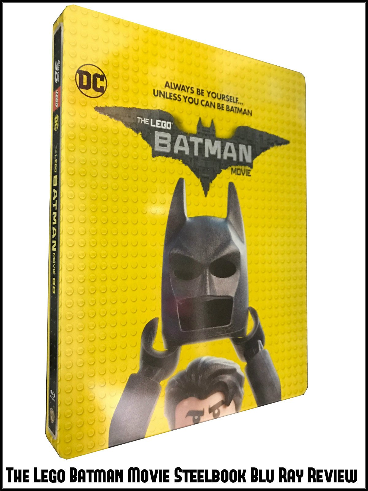 Review: The Lego Batman Movie Steelbook Blu Ray Review