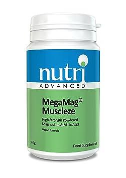 MegaMag Muscleze (Fruher Ultra muscleze) - 162gram Pulver by Nutri Advanced - Magnesium Ergänzung