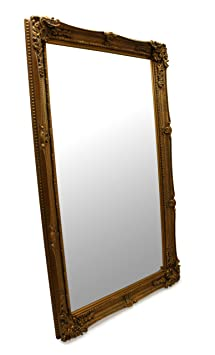 Gold Large French Ornate Wall Mirror 5ft x 3ft