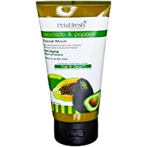 Petal Fresh Organic Eco-Elements Facial Masque Avocado and Papaya 5 Ounce