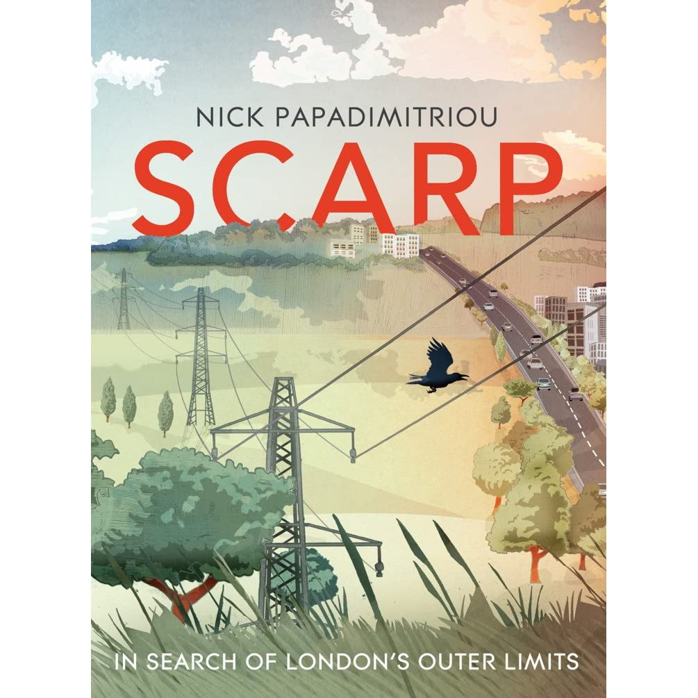 Picture of the dust jacket for Scarp