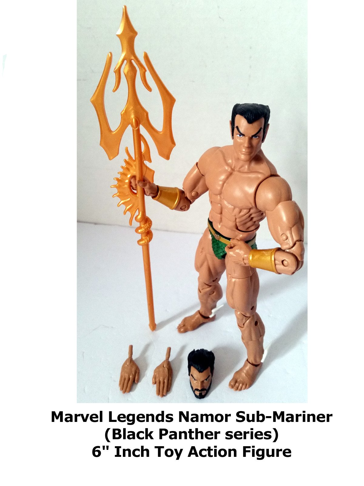 "Review: Marvel Legends Namor Sub-Mariner (Black Panther series) 6"" Inch Toy Action Figure on Amazon Prime Instant Video UK"