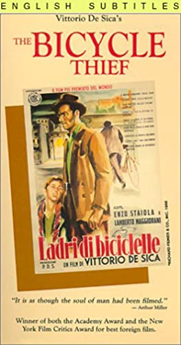 The Bicycle Thief [VHS] [Import]