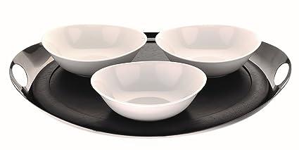 Mepra 250113N - Bandeja de cocina, color negro