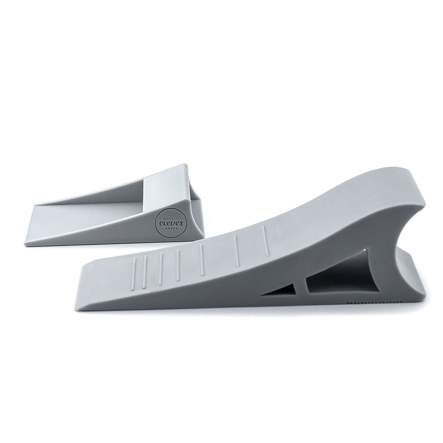 Quality Clever Door Stopper - (1 pack) - Non slide, Tall Rubber Wedge - Modern Design Doorstop