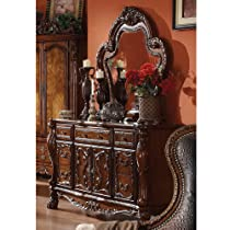 1PerfectChoice Dresden 2 pc Elegant Solid Wood Carving