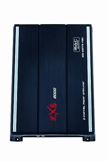 Amplificateur 2 x 220 W MAC AUDIO ZXS 2000-Amplificateur et accessoires