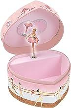 Enchantmints Ballet Heart Shape Music Box