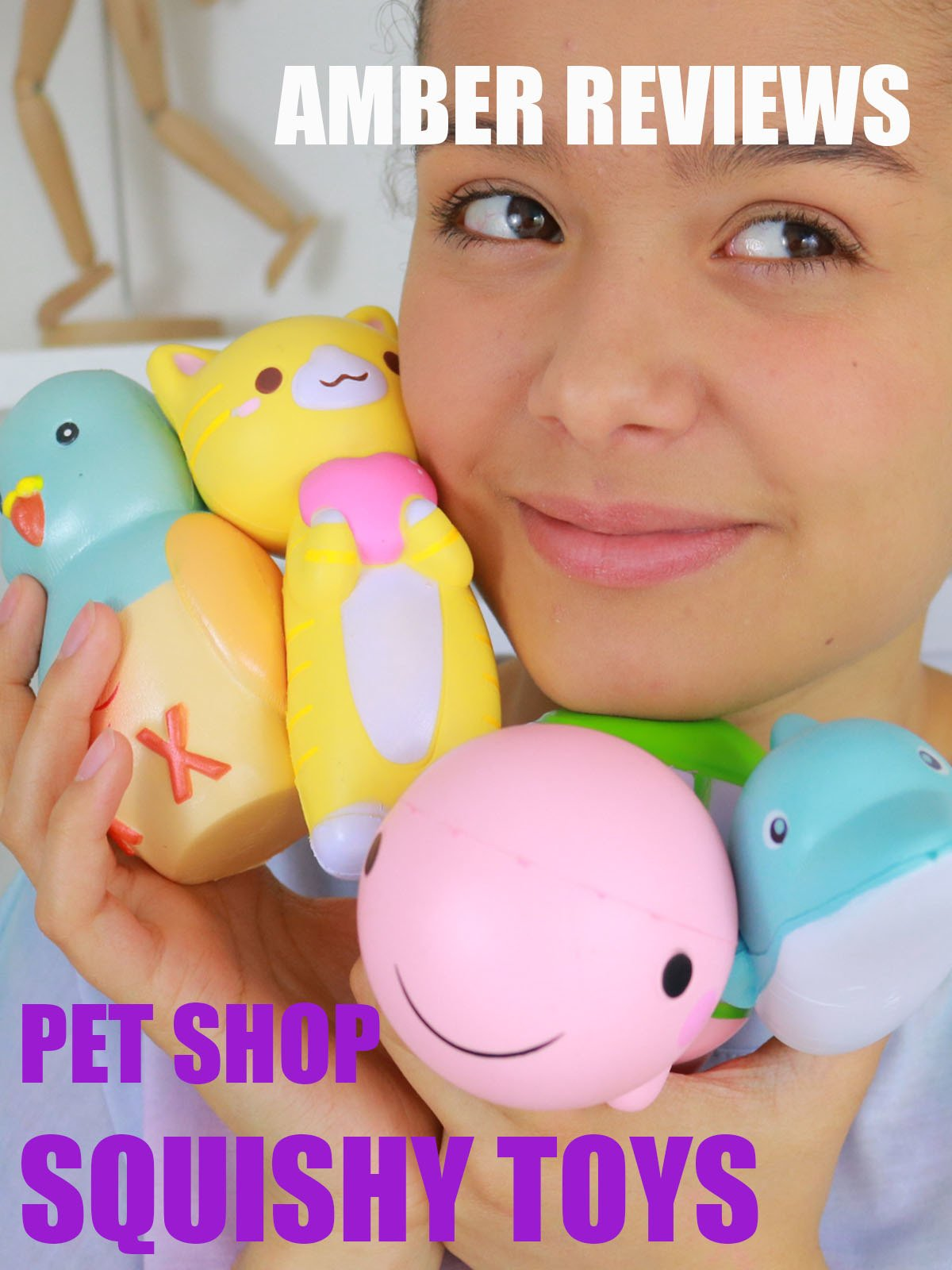 Amber Reviews Pet Shop Squishy Toys on Amazon Prime Instant Video UK