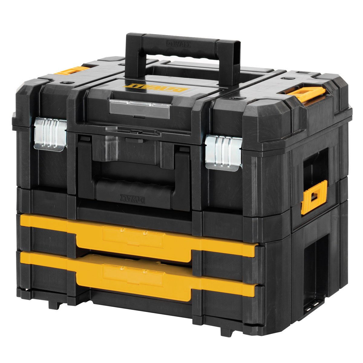 DeWalt DWST170702 DWST170702 Transportbox Combo TSTAK Box II & TSTAK Box IV  BaumarktBewertungen