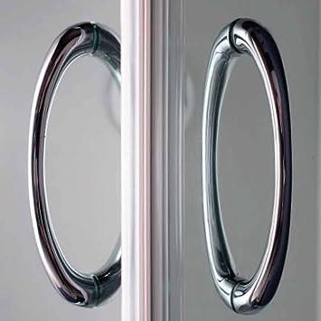 Cabine paroi douche 73x91 h185 cm transparent angulaire verre italienne mod - Cabine de douche al italienne ...