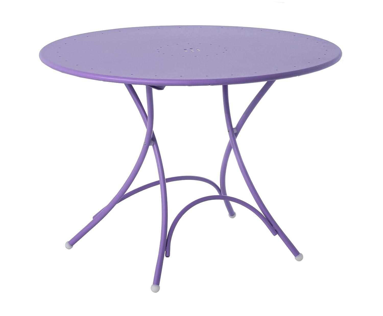 Emu 309048200N Pigalle Klapptisch 904, ø 105 cm, pulverbeschichteter Stahl, lila bestellen