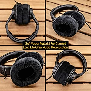 Replacement Ear Pads Compatible Audio Technica ATH-M50x