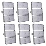 Viugreum 6 Pack 300W LED Flood Light, Waterproof IP65 outdoor Work Light, 27000 LM Daylight White (6000k-6500K) Security Floodlights, Landscape Spotlights Wall Garden Lighting, Fast Shipping from USA (Color: 6 Pack, Tamaño: 300W,Cold White)