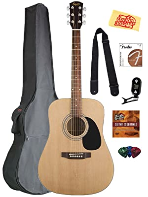 Fender Squier Acoustic Guitar Bundle