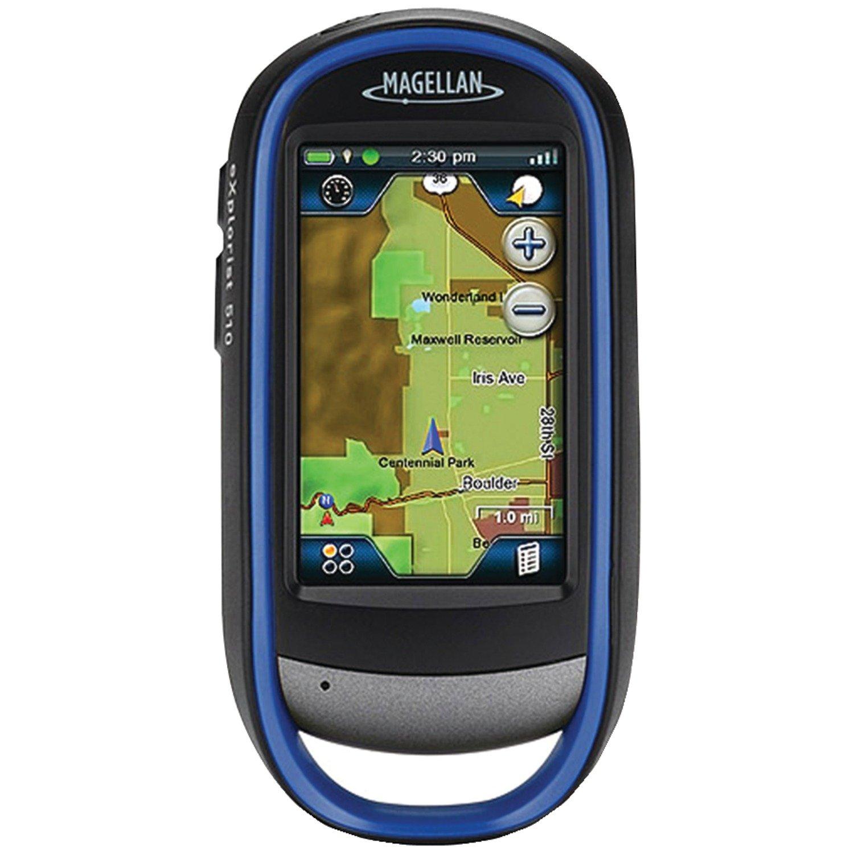 Navigation GPS MAGELLAN EXPLORIST 510 BLEU