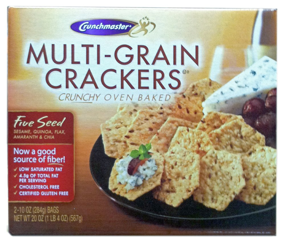 ... GLUTEN FREE Oven Baked MULTI-GRAIN CRACKERS 20oz (12 Pack