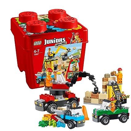 Lego Juniors - 10667 - Jeu De Construction - Boîte De Construction Du Chantier