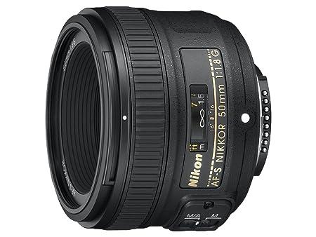Nikon 50mm f/1.8G AF-S NIKKOR FX Lens for Nikon Digital SLR