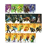 22Pcs Cute Game NFC Cards Hero Collection Tag Souvenir Cards 20 heart Wolf Link For Zelda Breath of the wild NS Switch