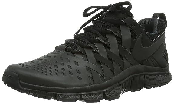 nike free trainer all black