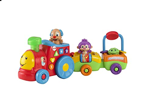 Fisher-Price Le Petit Train de Puppy Eveil Progressif