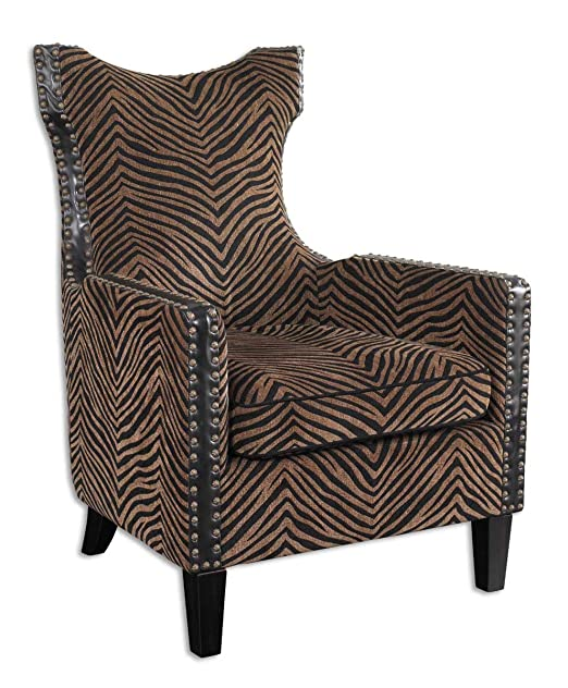 Uttermost Kimoni Armchair 33.5 Inches by 30.5 Inches by 42.75 Inches Tall